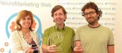 Merche Fontanals, Toni Biada y Jordi Rosell, premiados en 2011 y 2012
