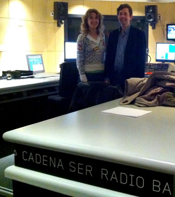 Marta Palencia entrevista al gerente de einnova, Antoni Biada