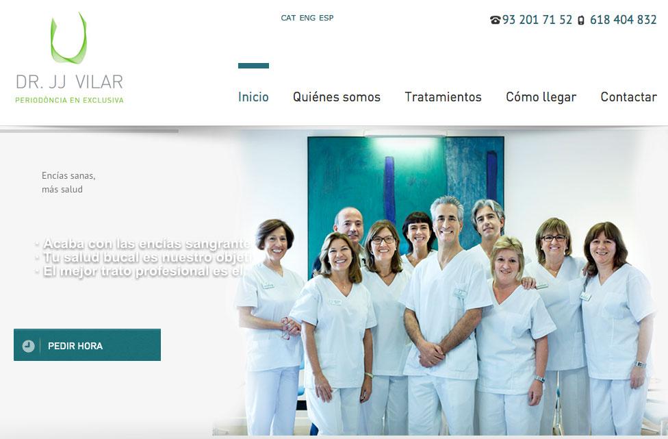 Posicionamiento Web Barcelona Dr Vilar