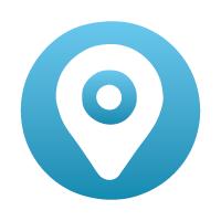 einnova icono ubicacion azul