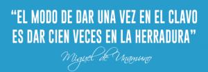 einnova cita Miguel de Unamuno