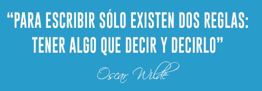einnova cita Oscar Wilde