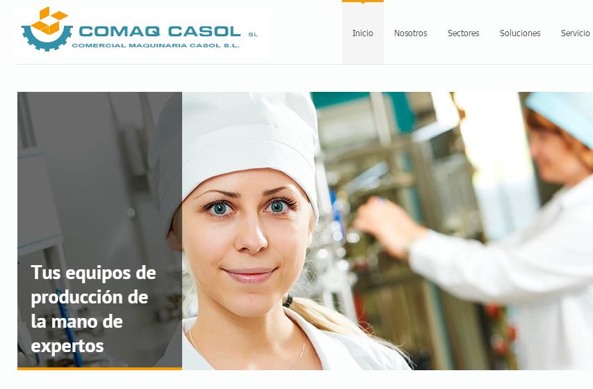 einnova posicionamiento web Comaq Casol