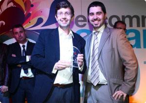CEo de Einnova con premio ecommarketing 2011