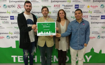 Premio Best Startup 2017 Fira Tech Demo Day