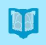 Icono de un libro con unas gafas encima