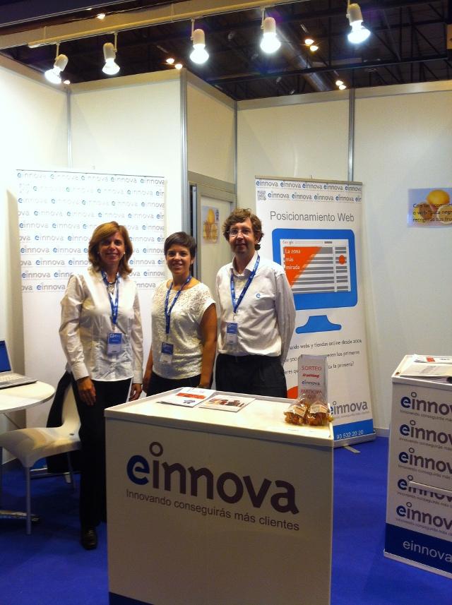 Gracias por visitar el stand de Einnova en eShow Madrid