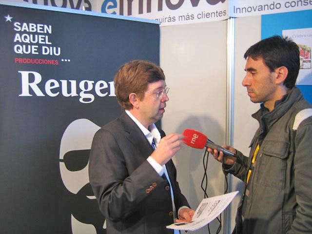 Antoni Biada de Einnova entrevistado por RNE (Radio Nacional de España)