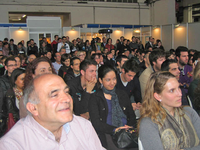 "Multitudinaria asistencia a la conferencia ""Tres Claves de Marketing Online para Triunfar con tu Negocio"""