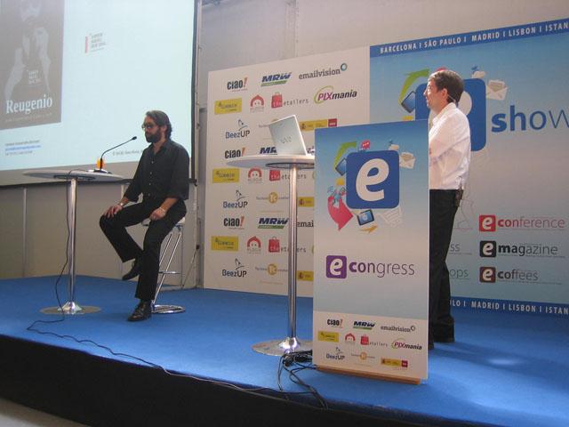 Antoni Biada de Einnova hablando sobre posicionamiento en eShow Barcelona