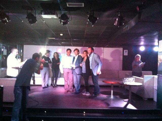 Einnova recoge el premio a la mejor empresa de analítica de página web 2012